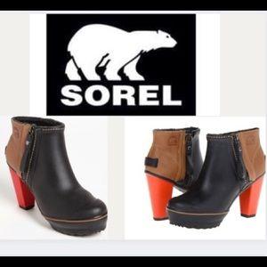 Sorel Medina Rain High Heel waterproof Boot